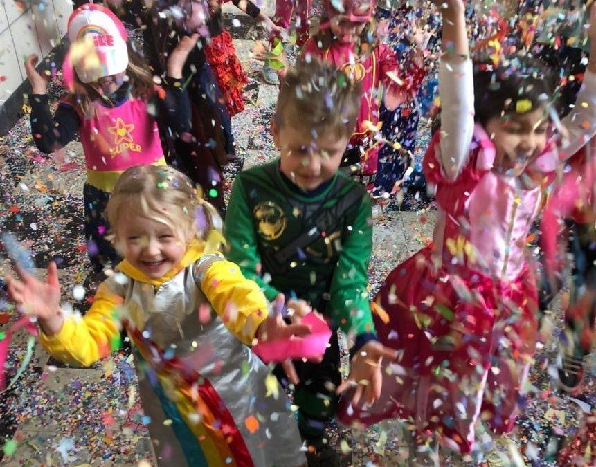 Carnaval op school!